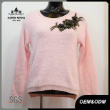 Ladies Pink Fashion New Flora Sweater