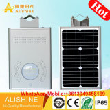 5W/8W/10W/12W/15W Solar Garden Light LED Street Lighting with All-in-One/ Integrated