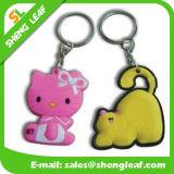 3D Custom Cartoon Animals Soft PVC Rubber Keychain (SLF-KC071)
