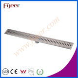 Fyeer Big Stainless Steel Bathroom Long Floor Linear Drain (FD15080)