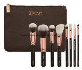Zoeva Portable Make up Brush with Bag 8 PCS/Set Black/Pink/Yellow Cosmetic Brush Set