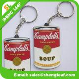 Supply Custom Rubber Soft PVC Keychain (SLF-KC085)