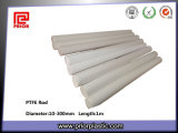 Sintering Engineering Plastic White PTFE Teflon Rod