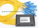PLC Splitter for 1X32 Optical Fiber Splitter (Telecom, FTTH, CATV)