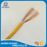Yellow Transparent PVC Sheath Speaker Cable with SGS Approved