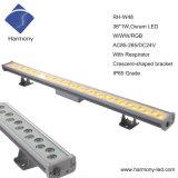 Waterproof 36PCS RGB LED Wall Washer Light