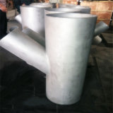 Stainless Steel 45 Degree Pipe Wye Y Type Lateral Tee