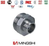Compression Fitting in Brass for Multilayer Pipes - Double Male Straight