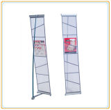 Metal Mesh Brochure Holder with 4 Net Pockets
