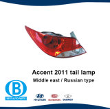 Accent 2011 Taillamp Manufacturer Auto Lamp for Hyundai and KIA