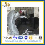 Granite Stone Angel Headstone, Monument & Tombstone (YQG-CS1005)