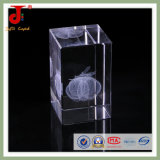 Holiday Gifts Cheap Laser Engraved Crystal Wholesale