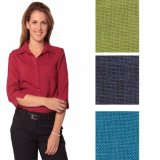 New Ladies Cool Dry 3/4 Sleeve Business Casual Shirt (A475)