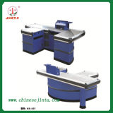 Cashier Desk, Luxury Checkout Counter with Conveyor Belt (JT-H05)