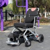 Topmedi Light Weight Foldable Power Electric Wheelchair