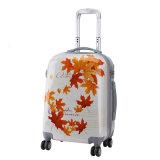 Customized Logo Design Luggage Bag ABS+PC Travle Bag Hybrid Luggage