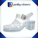 2017 Silver High Heel Sandals for Women