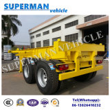 20ft 2 Axle Skeleton Container Frame Skeleton Semi-Trailer