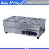 3 Pans Cateing Equipment Counter Top Electric Bain Marie Food Warmer Sb-3t