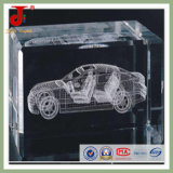Good Quality 3D Laser Crystal Car (JD-CC-510)
