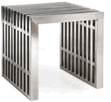 Stainless Steel Garden Furniture Bench