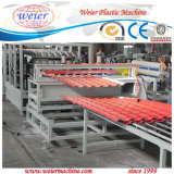 PVC Trapezoid Roof Tiles Board Machine