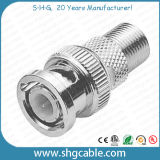 F Female to BNC Male Adapter Connector for Coaxial Cable Rg59 RG6