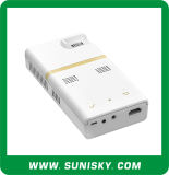 New Mini Android 4.4 Black Projectors with Bluetooth WiFi Access to USB for Training (SMP8150)