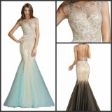 Backless Beading Party Prom Gowns Mermaid Evening Dresses Z806