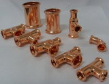 Copper Press Joint Fittings for Plumbing and Gas