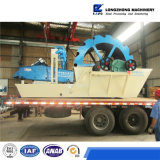Mining Sand Washing Machine Equipment with Hydrocyclones and Vibrating Screen