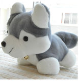 Plush Scarf Tie Sitting Soft Dog Plush Toys
