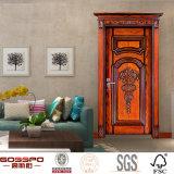 Mahogany Apartment Room Carving Wood Interior Door (GSP2-008)