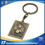 Antique Finish 3D Spider Keychain for Promtion (Ele-K024)
