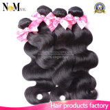 Mink Hair Stock Double Drawn Remi Hair Weft (QB-MVRH-BW)