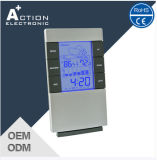 Weather Station Digital Clock with Temp Trend and Comfortable Level