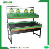 Single Side Stainless Steel Vegetable Display Rack