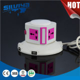 Hot Selling! 2.1mA USB Ports Multi Tower Socket