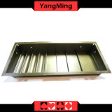 2 Layer Casino Poker Table Dedicated Chip Tray Hybrid Poker Table Chip Float with 4 Row -Round / Square Ym-CT18