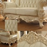 Wood Sofa for Living Room Furniture and Home Furniture (523)