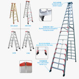 Aluminum Double Size a Ladder Industrial Type