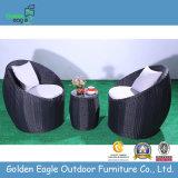 Aluminium 3PCS Rattan Terrace Furniture Set