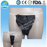 Non Woven Underwear Disposable Sexy Tanga G-String Briefs for Men