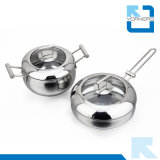 2 Pieces New Design Stainless Steel Cookware Pots Set
