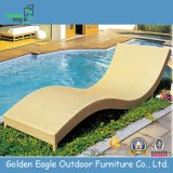 PE Rattan Simple Pool Chair (L0008)