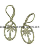925 Silver New Fashion Design Coconut Palm Tree Earring