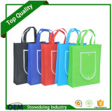 Promotional Facotry Reusable 80GSM Non Woven Foldable Shopping Bag