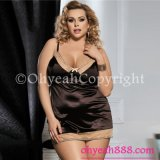 2017 New Arrival Sexy Hot Lingerie Plus Size Babydoll for Fat Women