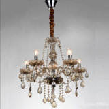 Very Useful Home Brown Crystal Chandelier Light Lamp for restaurant