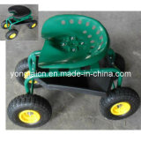 Rolling Garden Work Cart (with Pad)